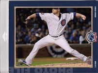 Jon Lester Chicago Cubs Licensed MLB World Series Photo File 8x10 PhotoIn Package
