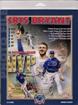 Kris Bryant Chicago Cubs Licensed MLB Photo File 8x10 MVP Photo In Package