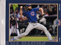 Jake Arrieta Chicago Cubs Licensed MLB World Series Photo File 8x10 Photo In Package