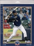 Ryan Braun Milwaukee Brewers Licensed MLB Photo File 8x10 Photo In Package
