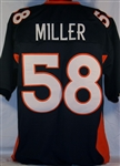 Von Miller Denver Broncos Custom Alternate Jersey Mens XL
