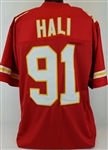 Tamba Hali Kansas City Chiefs Custom Home Jersey Mens 2XL
