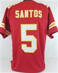 Cairo Santos Kansas City Chiefs Custom Home Jersey Mens 2XL