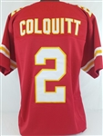 Dustin Colquitt Kansas City Chiefs Custom Home Jersey Mens 2XL