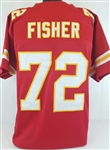Eric Fisher Kansas City Chiefs Custom Home Jersey Mens 2XL