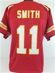 Alex Smith Kansas City Chiefs Custom Home Jersey Mens 2XL