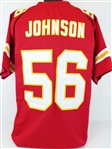 Derrick Johnson Kansas City Chiefs Custom Home Jersey Mens 2XL