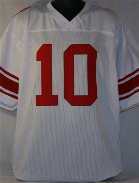 pretty nice 0cecd 6da3d Item Detail - Eli Manning New York Giants Custom Away Jersey ...