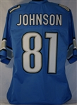 Calvin Johnson Detroit Lions Custom Home Jersey Mens 2XL