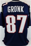 "Rob Gronkowski ""Gronk"" New England Patriots Custom Home Jersey Mens 2XL"