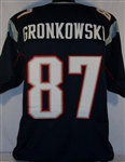 Rob Gronkowski New England Patriots Custom Home Jersey Mens 2XL