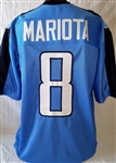 Marcus Mariota Tennessee Titans Custom Alternate Jersey Mens XL