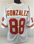Tony Gonzalez Kansas City Chiefs Custom Away Jersey Mens 2XL