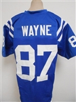 Reggie Wayne Indianapolis Colts Custom Home Jersey Mens XL