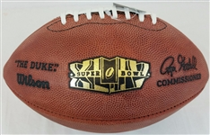 Super Bowl 44 XLIV Official Wilson NFL On Field Game Football New Orleans Saints vs Indianapolis Colts