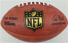 "Official Wilson NFL On Field ""The Duke"" Game Football Roger Goodell"