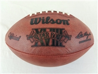 Super Bowl 18 XVIII Official Wilson NFL On Field Game Football Los Angeles Raiders vs Washington Redskins