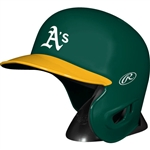 Oakland Athletics Rawlings MLB Baseball Mini Batting Helmet