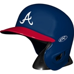 Atlanta Braves Rawlings MLB Baseball Mini Batting Helmet