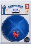 New York Mets MLB Licensed Pro Kippah w/ Built In Clip Yamaka Yarmulke