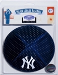 New York Yankees MLB Licensed Pro Kippah w/ Built In Clip Yamaka Yarmulke