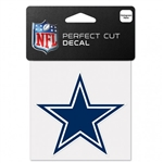 "Dallas Cowboys Star Logo Perfect Cut Color Decal 4""x4"""