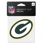 "Green Bay Packers Perfect Cut Color Decal 4""x4"""