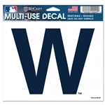"Chicago Cubs ""W"" Flag MLB Multi-Use Color Decal 5""x6"""