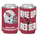 Arizona Cardinals Rise Up Red Sea 12oz. Can Cooler