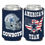 Dallas Cowboys Americas Team 12oz. Can Cooler