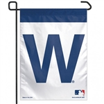 "Chicago Cubs ""W"" Officially Licensed MLB 11""x15"" Garden Flag"