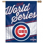 "Chicago Cubs 2016 World Series/National League Champions Officially Licensed MLB 27""x37"" Vertical Flag"