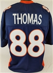 Demaryius Thomas Denver Broncos Custom Alternate Jersey Mens XL