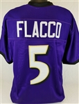 Joe Flacco Baltimore Ravens Custom Home Jersey Mens XL