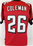 Tevin Coleman Altlanta Falcons Custom Home Jersey Mens Large