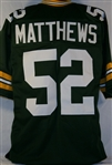 Clay Matthews Green Bay Packers Custom Home Jersey Mens Large