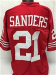 Deion Sanders San Francisco 49ers Custom Home Jersey Mens Large