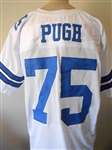 Jethro Pugh Dallas Cowboys Custom Home Jersey Mens Large