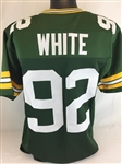 Reggie White Green Bay Packers Custom Home Jersey Mens 2XL