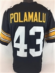 Troy Polamalu Pittsburgh Steelers Custom Home Jersey Mens 2XL