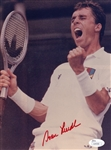 Ivan Lendl Signed Tennis 7x9.5 Photo Auto Autographed JSA COA #S39308