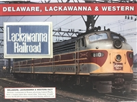 Delaware, Lackawanna & Western Willabee & Ward Great American Railroads Patch Card