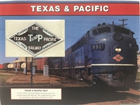 Texas & Pacific Willabee & Ward Great American Railroads Patch Card