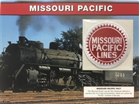 Missouri Pacific Willabee & Ward Great American Railroads Patch Card