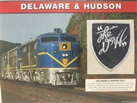 Delaware & Hudson Willabee & Ward Great American Railroads Emblem Patch Card