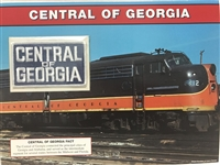 Central of Georgia Willabee & Ward Great American Railroads Emblem Patch Card