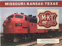 Missouri-Kansas-Texas Willabee & Ward Great American Railroads Emblem Patch Card
