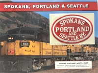 Spokane, Portland & Seattle Willabee & Ward Great American Railroads Patch Card