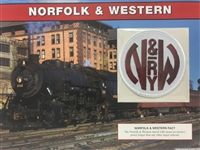 Norfolk & Western Willabee & Ward Great American Railroads Patch Card