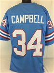 Earl Campbell Houston Oilers Custom Home Jersey Mens XL